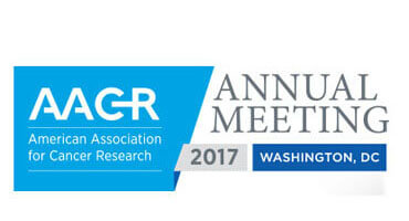 American Association for Cancer Research 2017 (AACR) Annual Meeting